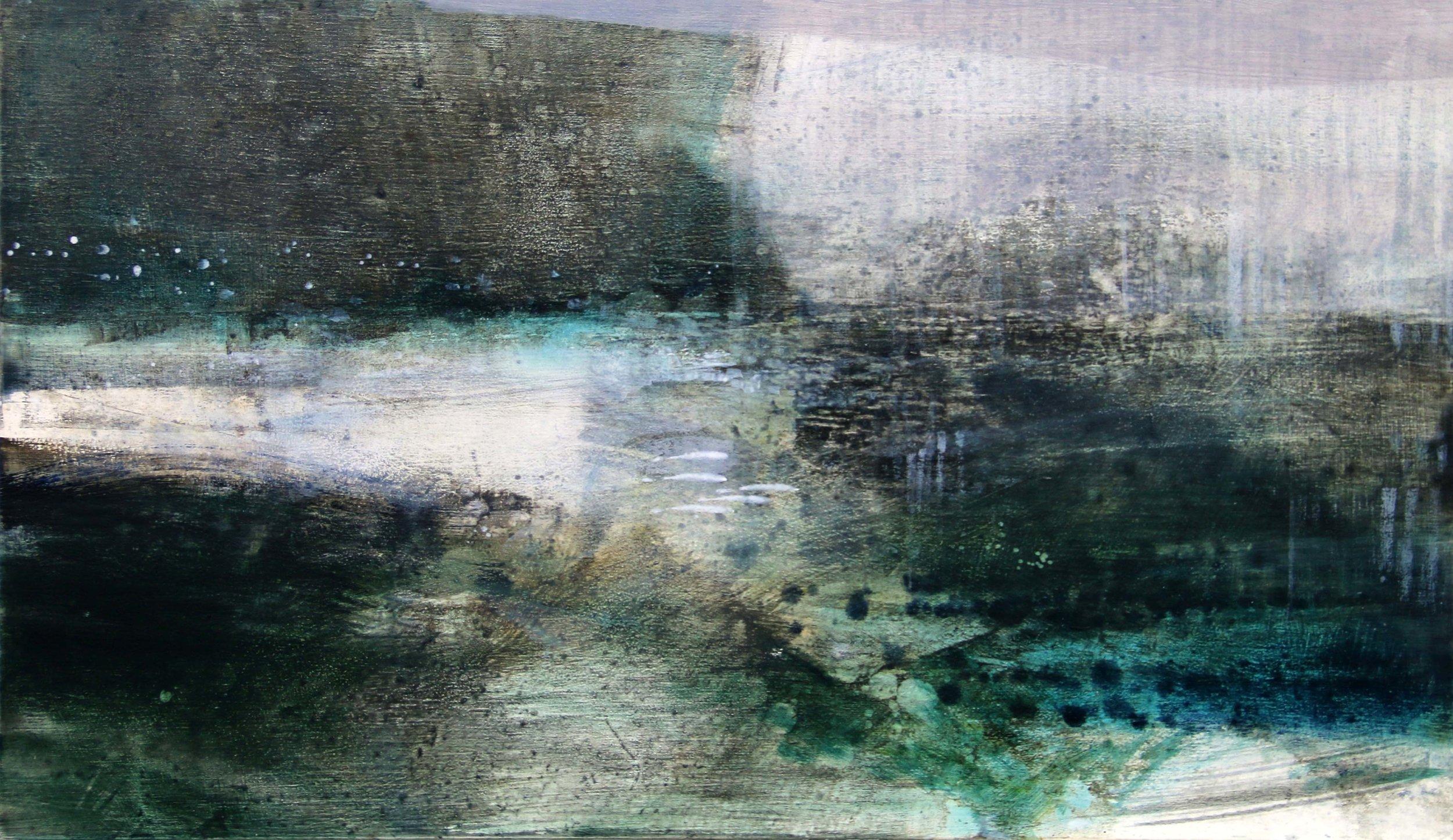 Soft Winter III • Oil on Board • 23x28cm • Sold