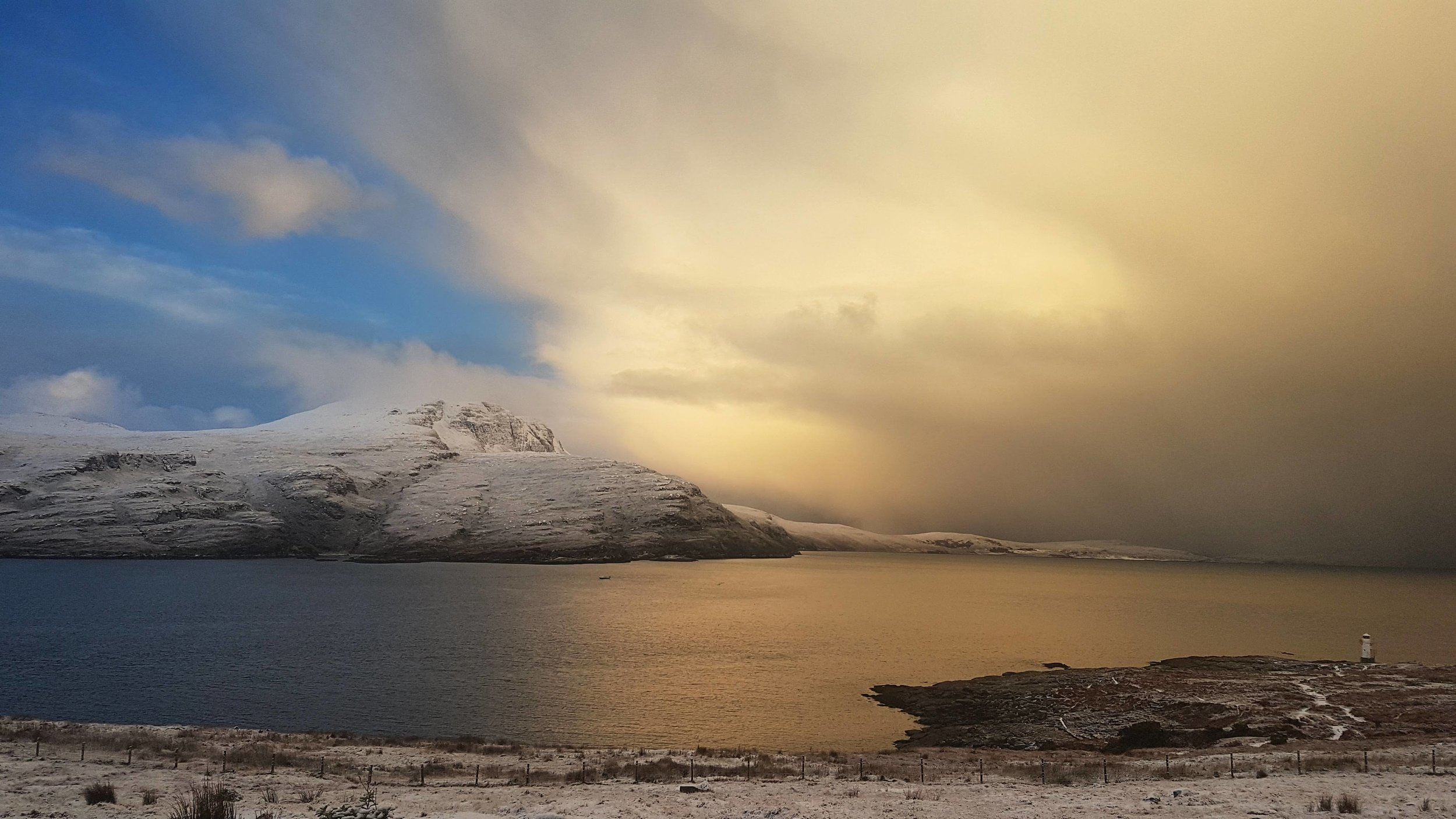 Snow Cloud at Rhue