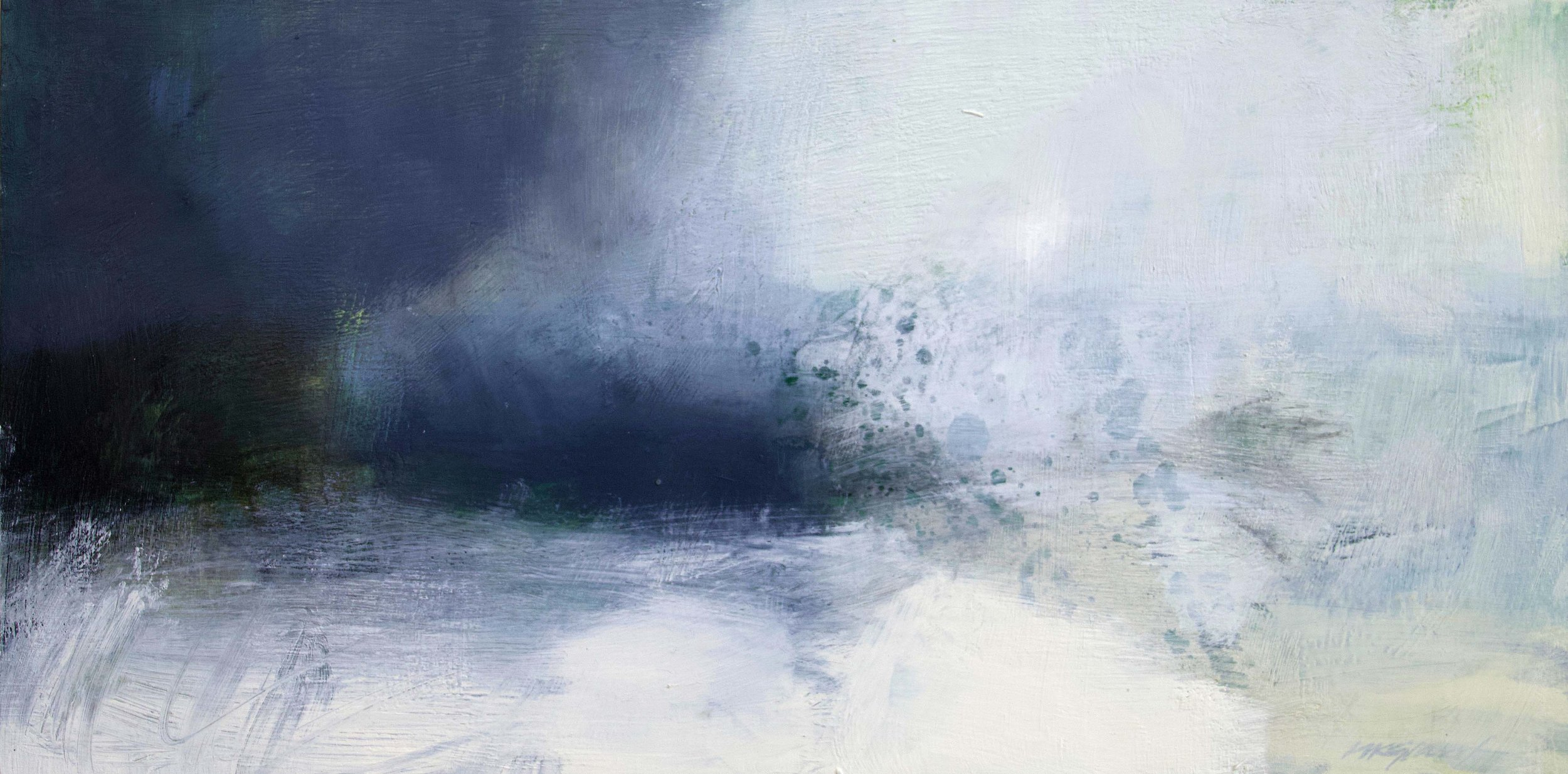 Silence Beyond • Oil on Board • 25x52cm •  Enquire