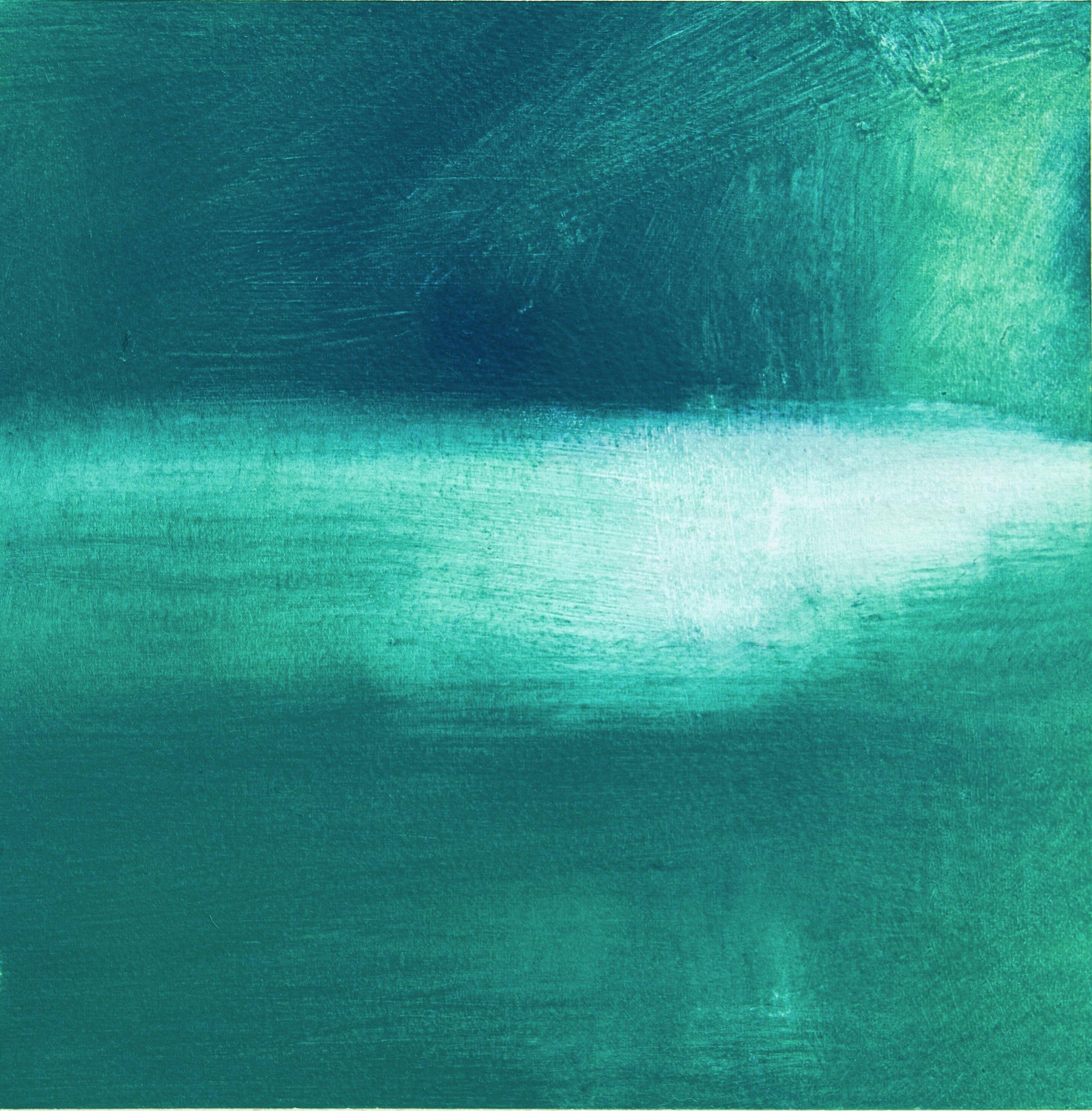 Silent • Oil on Paper • 24cmx24cm •  Enquire