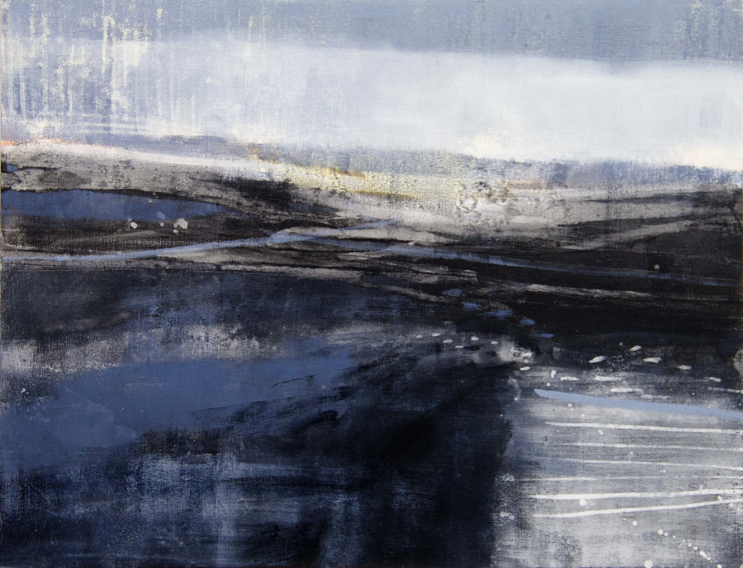 Permeable Land • Oil on Board • 30x40cm •   Sold