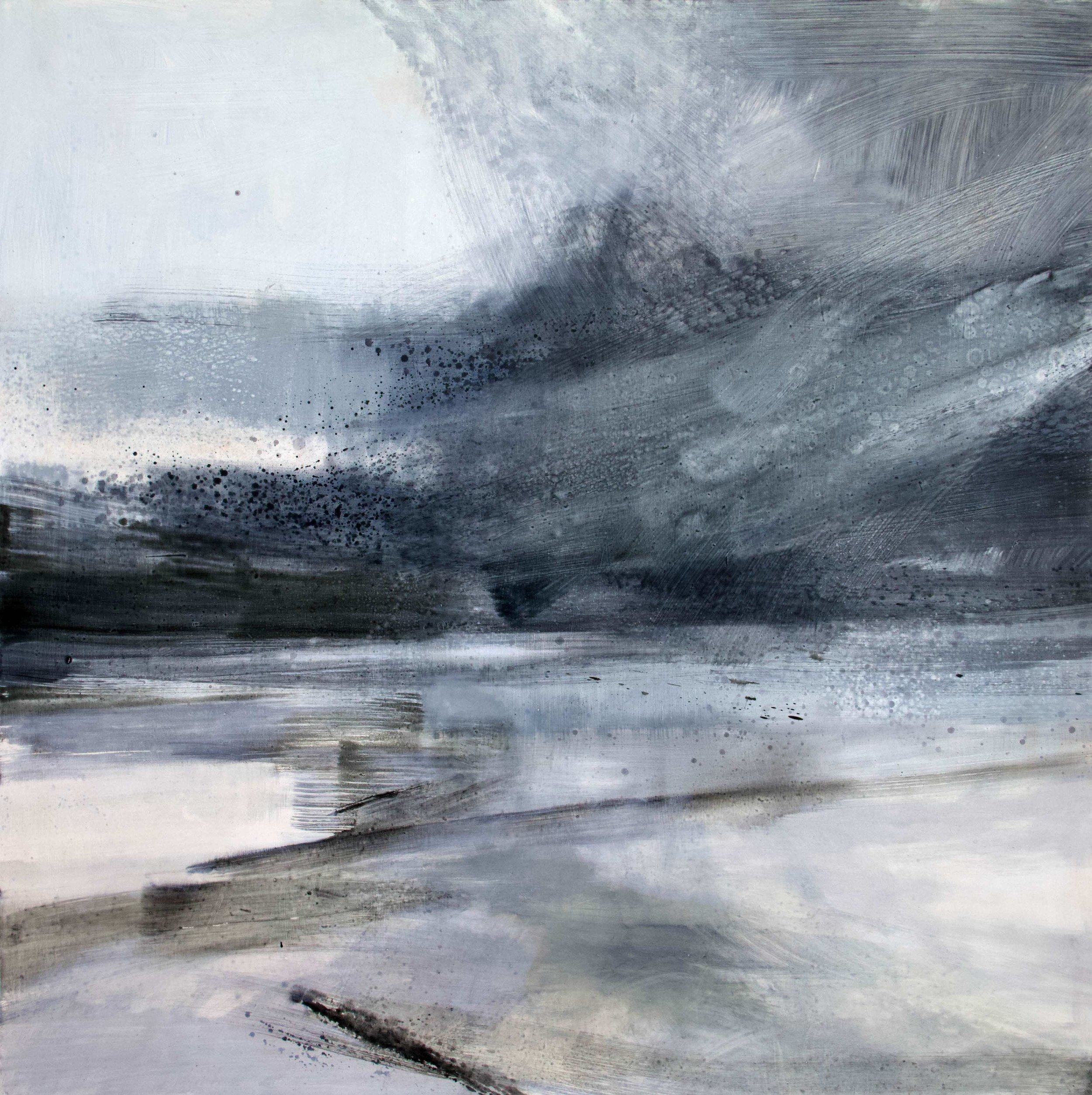 Immerse • Oil on Board • 120cmx120cm •  Enquire