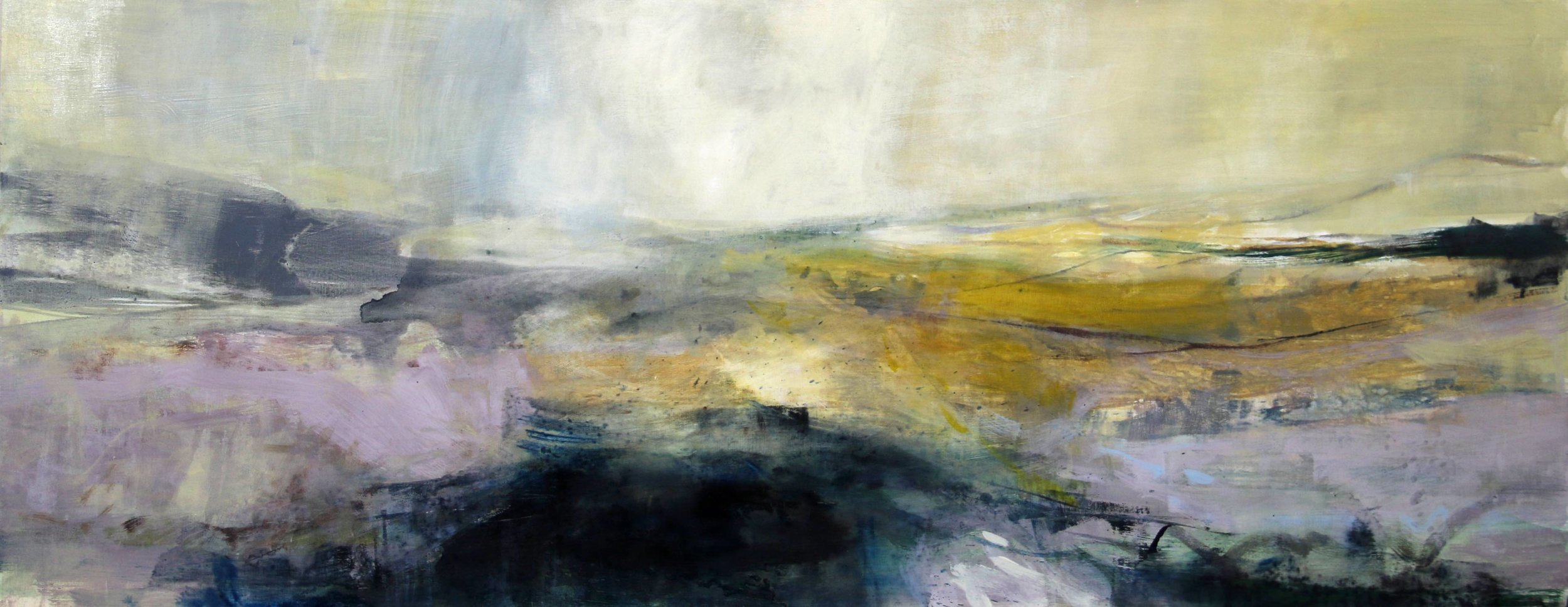 Beyond the Sun • Oil on Board • 48x122cm • Sold