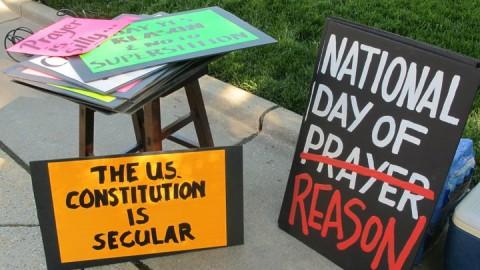 We promote reason over prayer