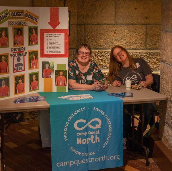 Theresa Bulander and Nancy Bradshaw, Camp Quest