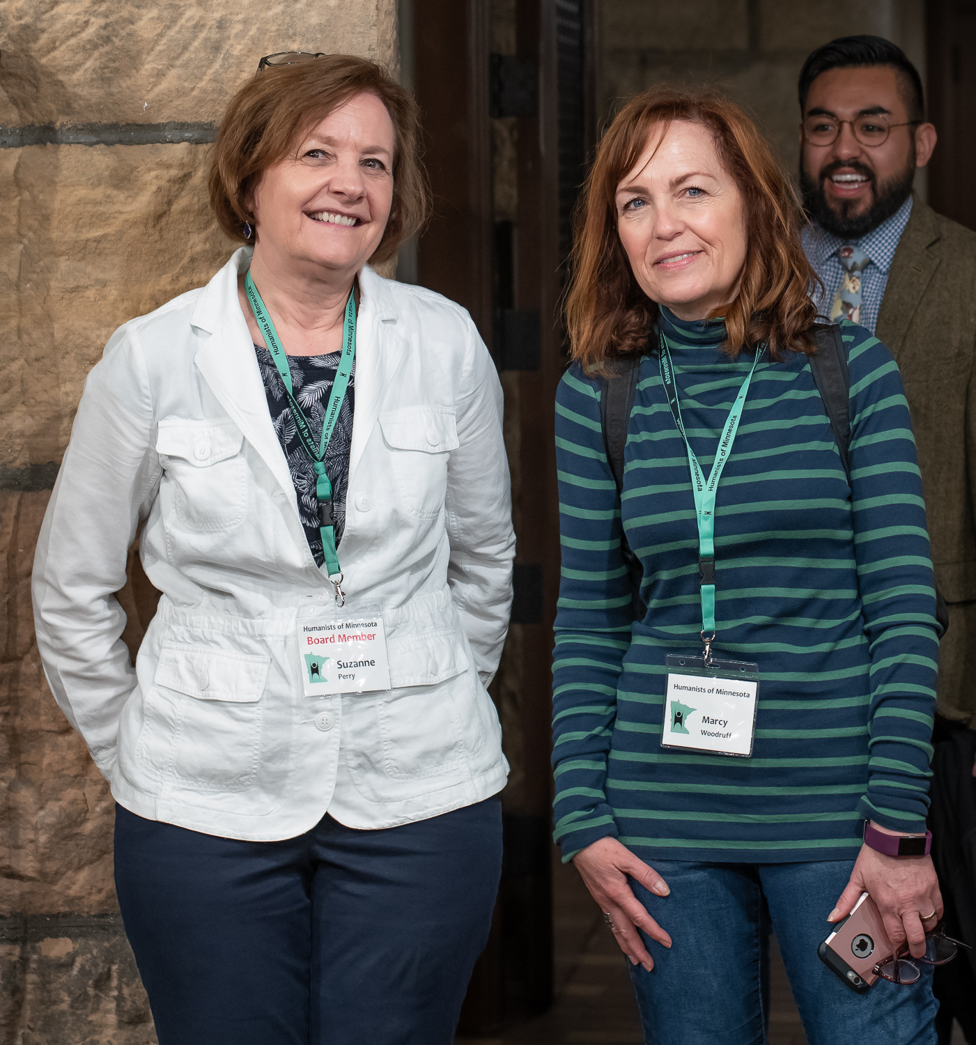 Suzanne Perry and Marcy Woodruff, HumanistsMN
