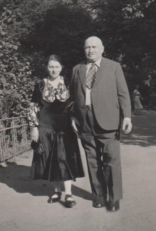 Jettchen and Adolf Kahn