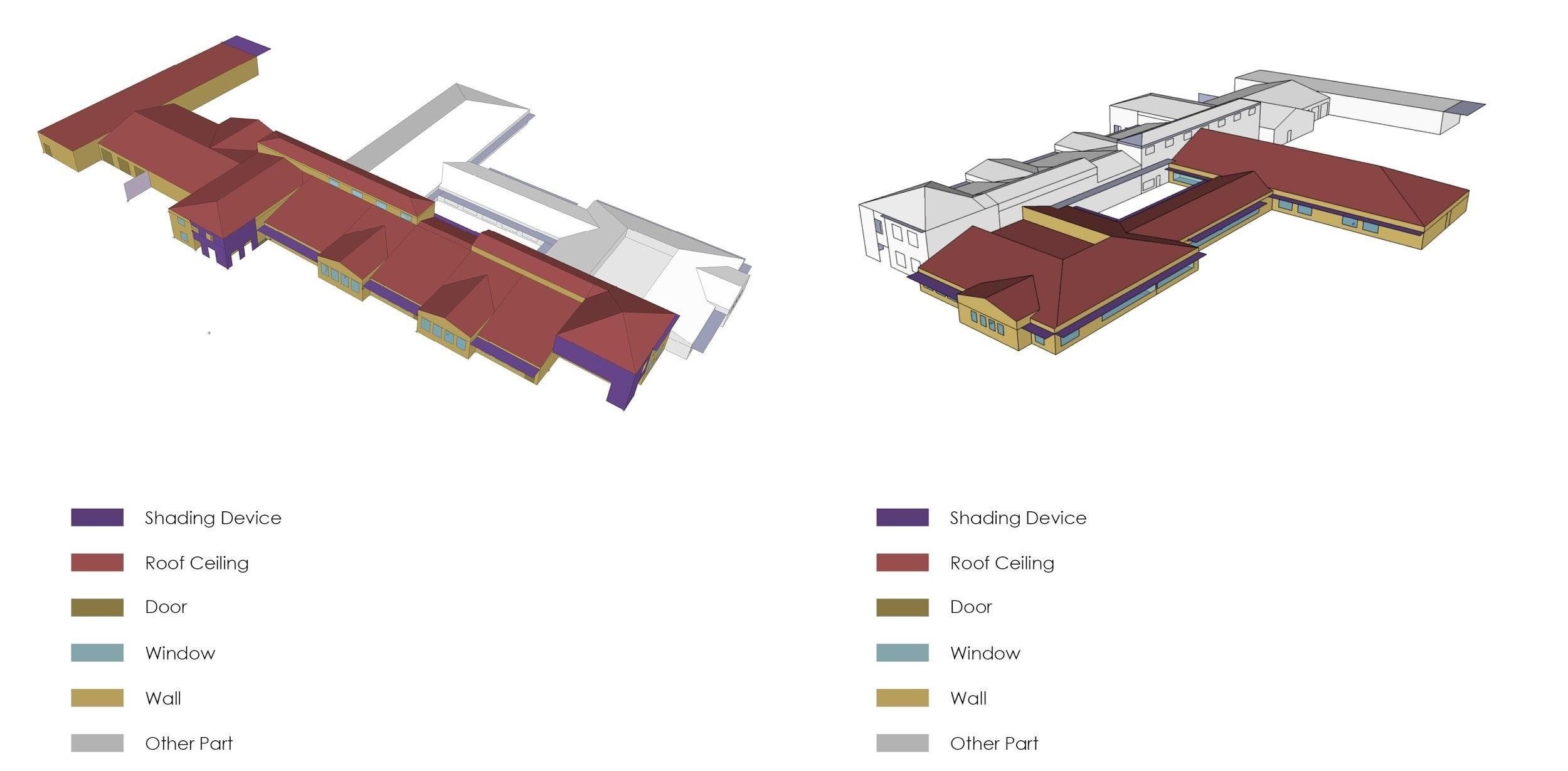 Figure 1. Surface type in Openstudio.