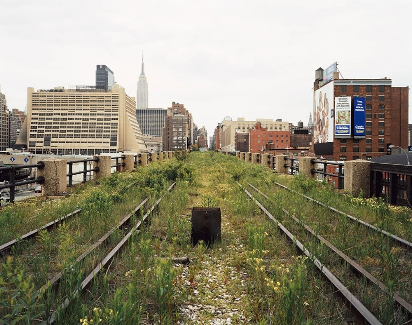 Figure       SEQ Figure \* ARABIC     1      . Abandoned industrial infrastructure, New York, courtesy of 'Friends of the High Line'.