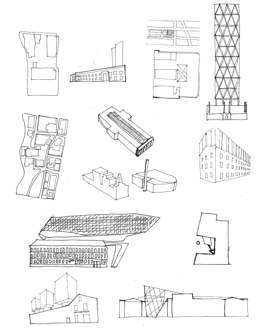 Illustration        SEQ Illustration \* ARABIC     5      . Analysis of changed facade ratio, drawn by author.