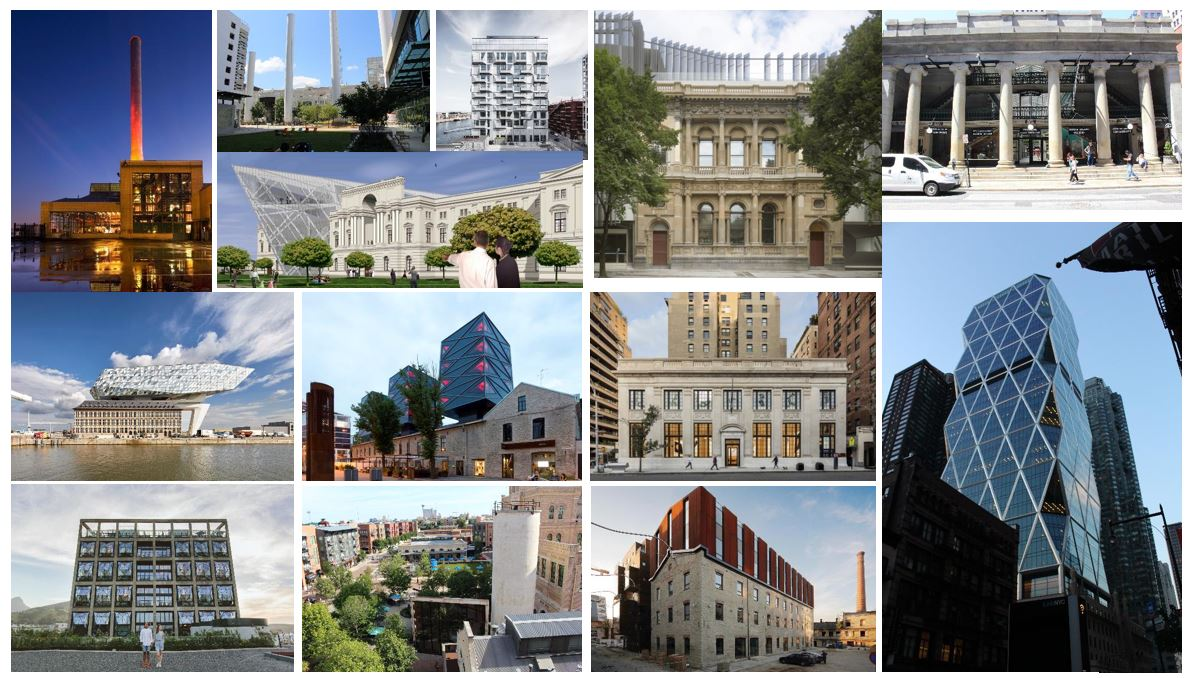 Figure 2. Photos of selected adaptive reuse projects.