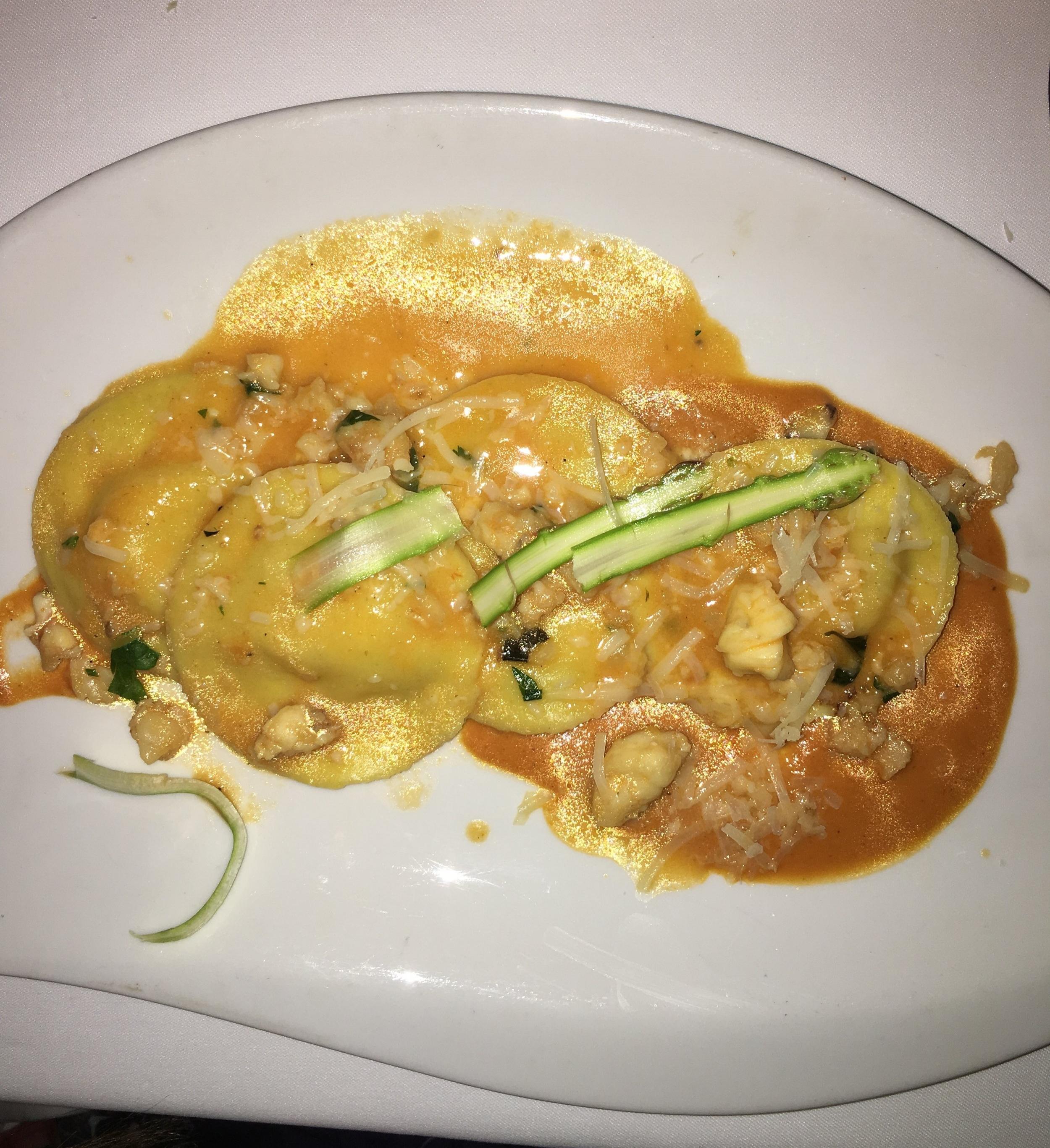 Lobster & Cheese Stuffed Ravioli