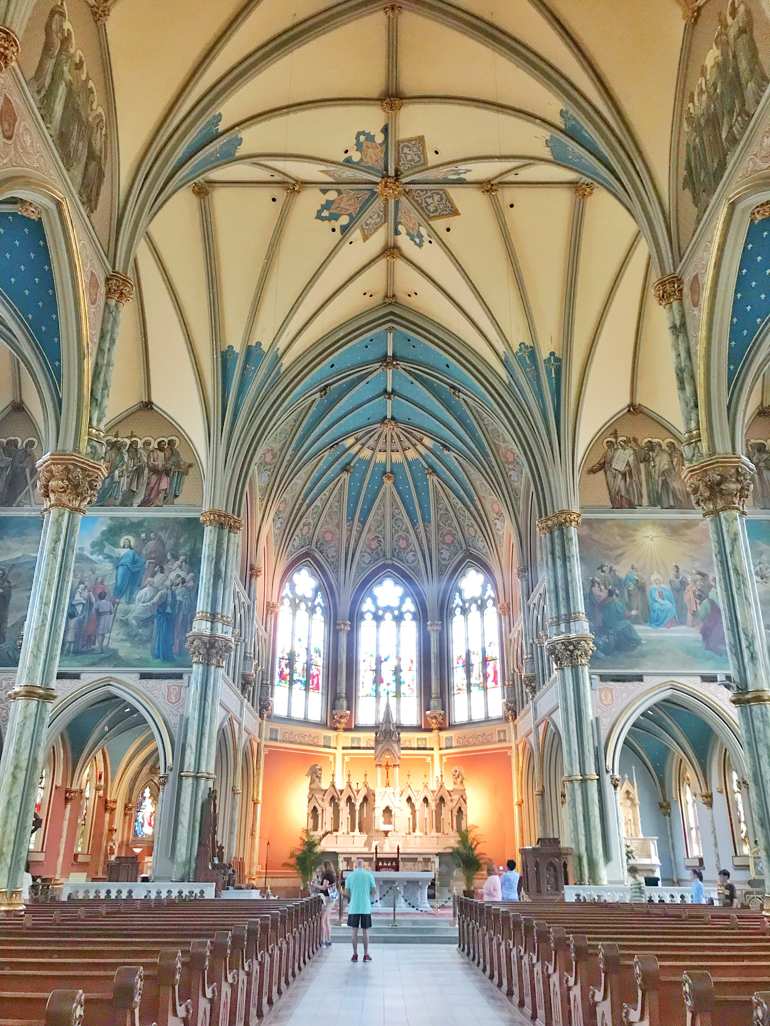 Inside of the Cathedral 😍
