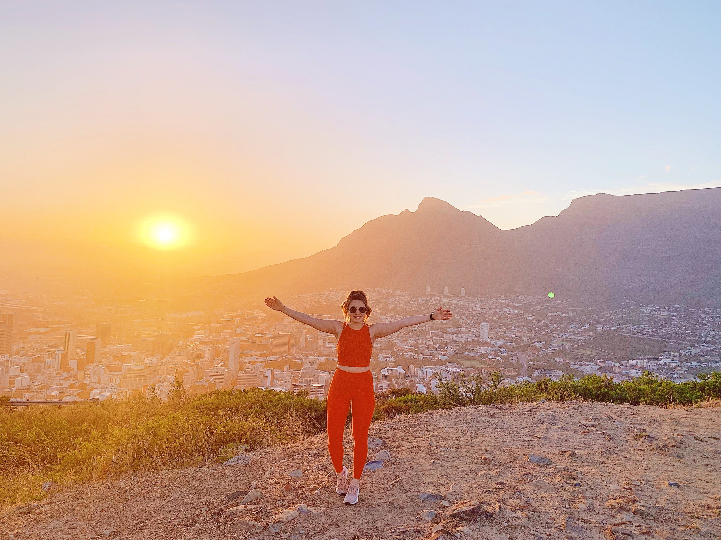 Sunrise at Signal Hill - Signal Hill is a very popular spot to watch the sunrise and I can definitely see why. The view was incredible!