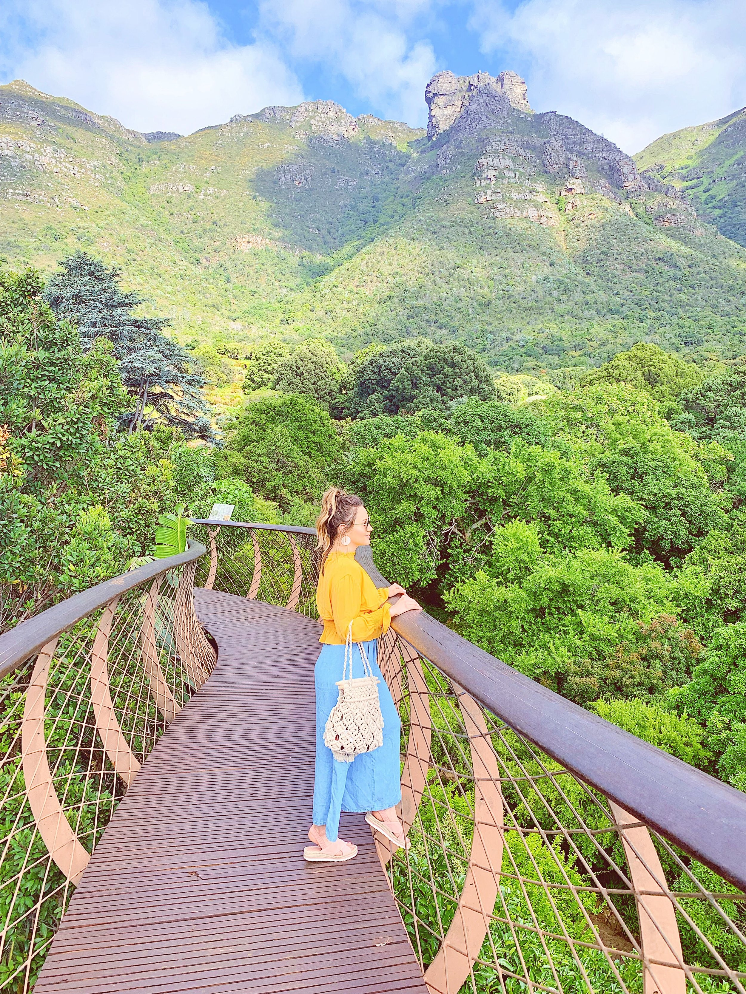 Kirstenbosch Canopy Walkway - We've been to a few botanical gardens in the past, but once again Cape Town's Kirstenbosch blew the others away. Everything was so beautifully landscaped and so luscious. Def a must see!