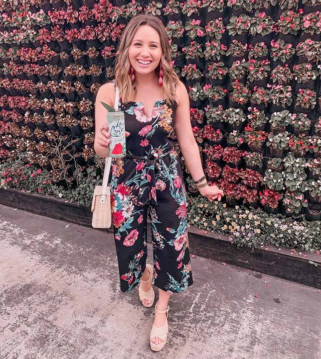 This $30 jumpsuit from @targetstyle gives me all the heart eyes 😍💐 also linked a few other super cute @target jumpsuits here! http://liketk.it/2AJjb #liketkit @liketoknow.it #LTKunder50