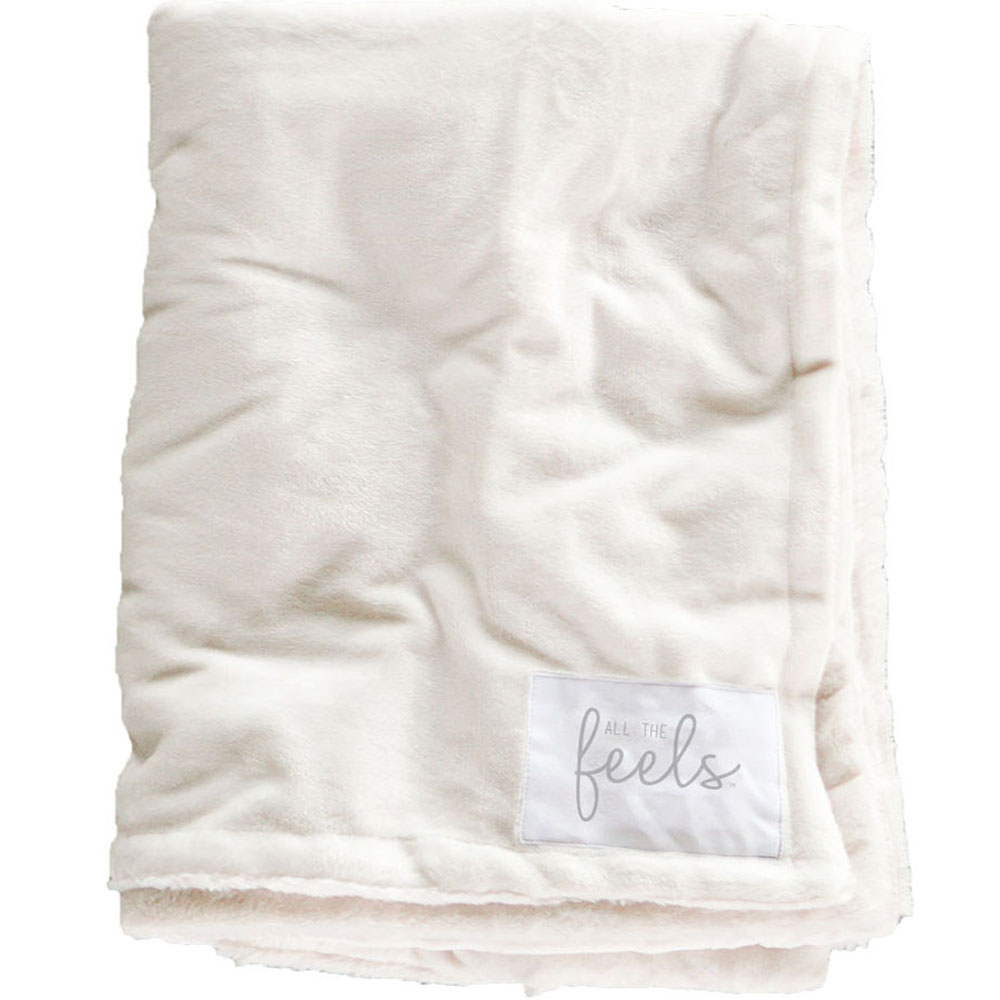 Extra Cozy Reversible Blanket in Snow White - From $35.00