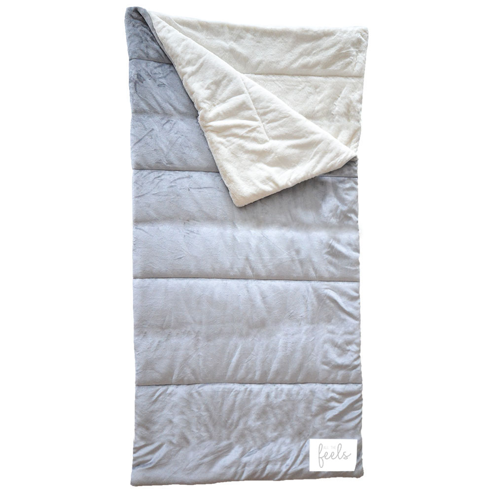 Extra Cozy Sleeping Bag in Ash Grey - $75.00