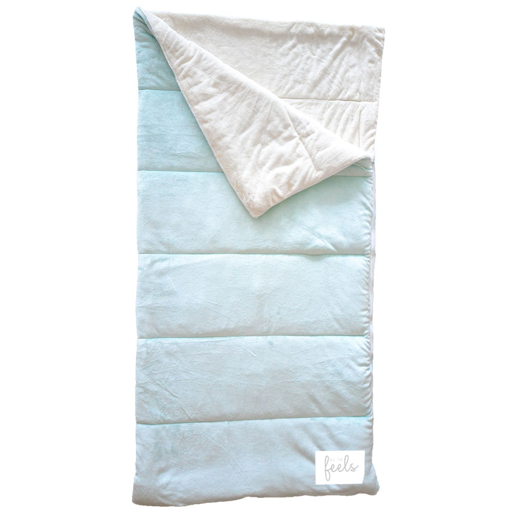 Extra Cozy Sleeping Bag in Glacier Mint - $75.00