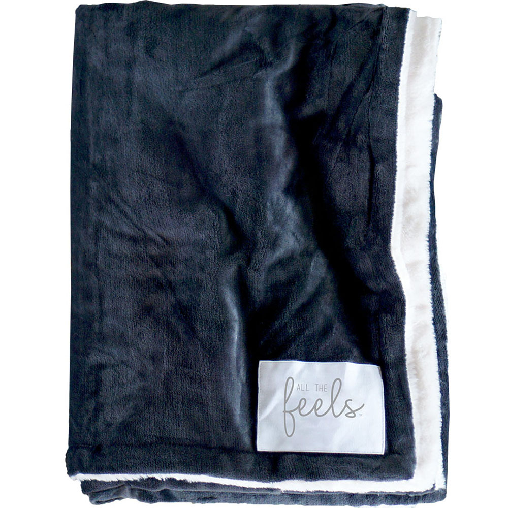 Extra Cozy Reversible Blanket in Phantom Grey - From $35.00