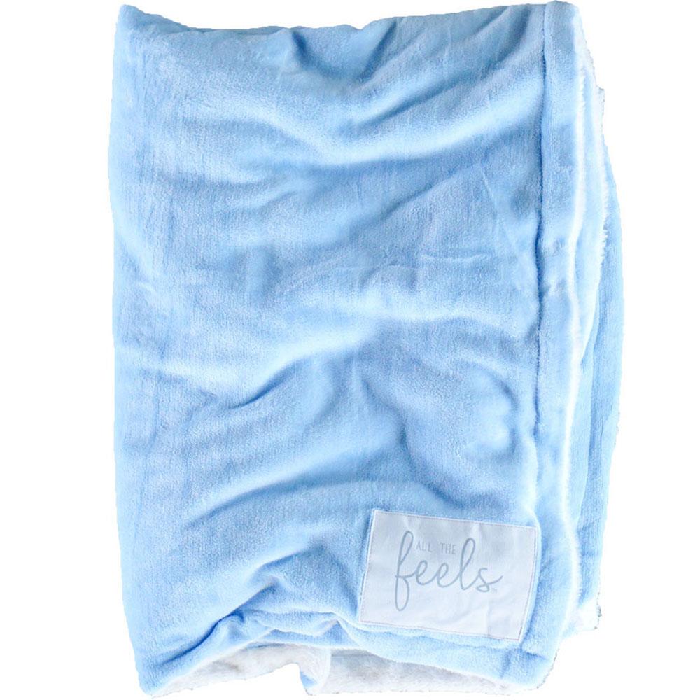 Carolina Blue | Extra Cozy Blanket