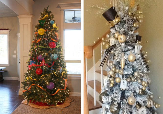 Re-purpose your Christmas Tree - No one gets rid of their Christmas tree by December 26th!Turn it into a new years tree. Adorn it with party favors and other dollar store trinkets to make it a fun transition into 2018.Our Best Bites
