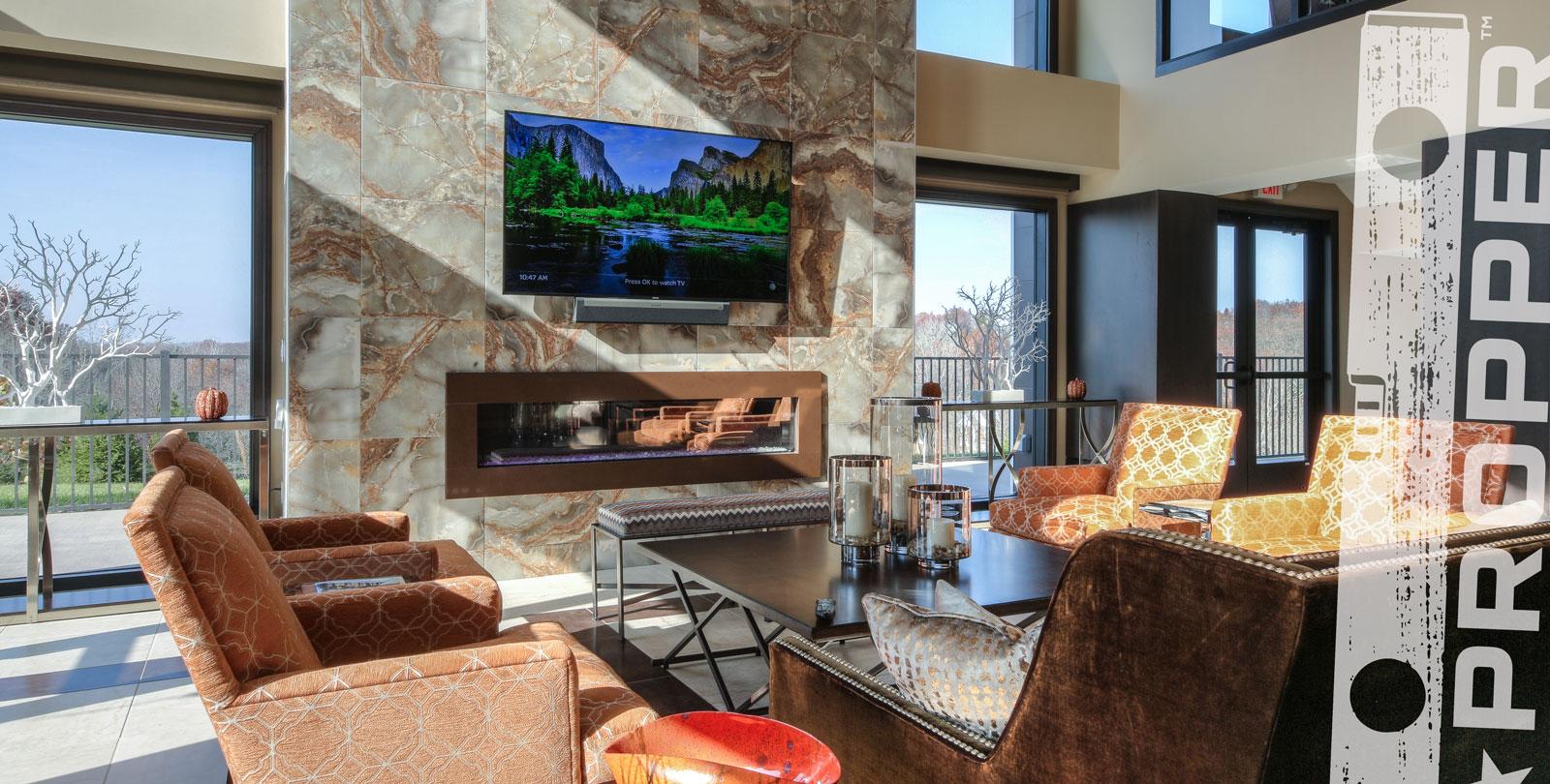 Ultra-luxury apartments - On schedule. Under budget.