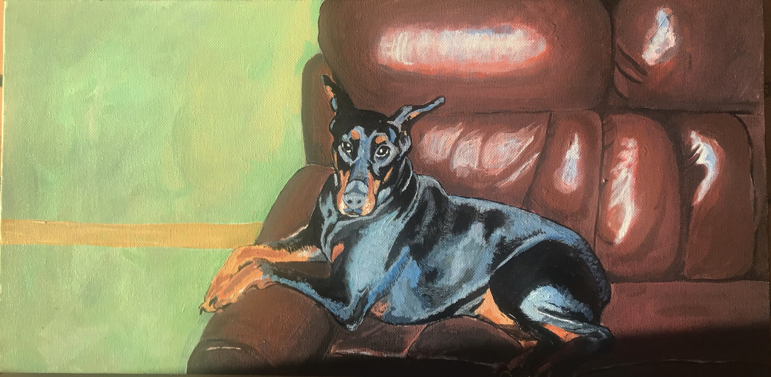 Riley - Doberman