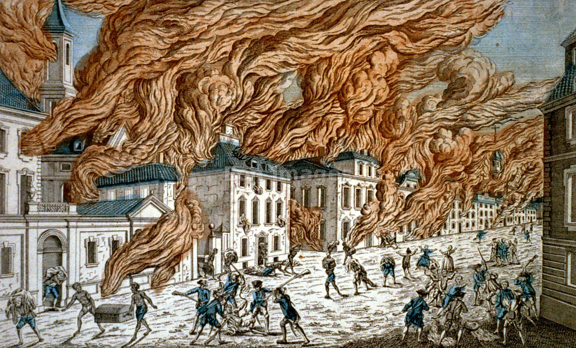 Great fire of new york 1776