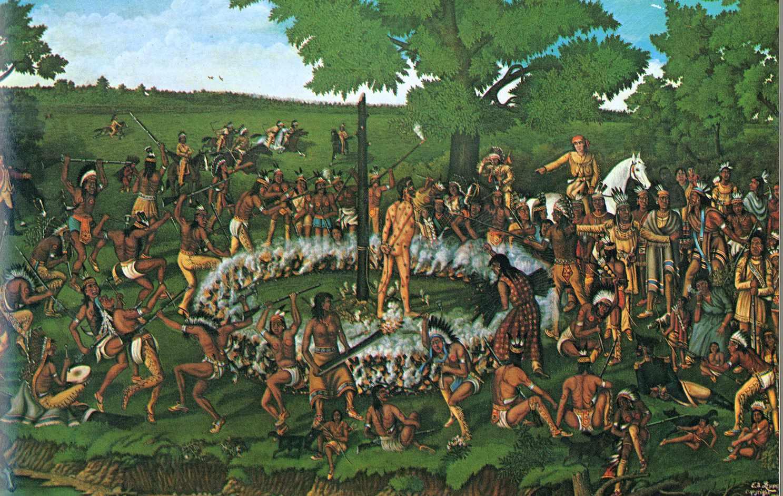 Deleware indians execute william crawford