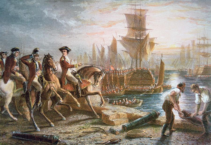 Evacuation day revolutionary war 1783