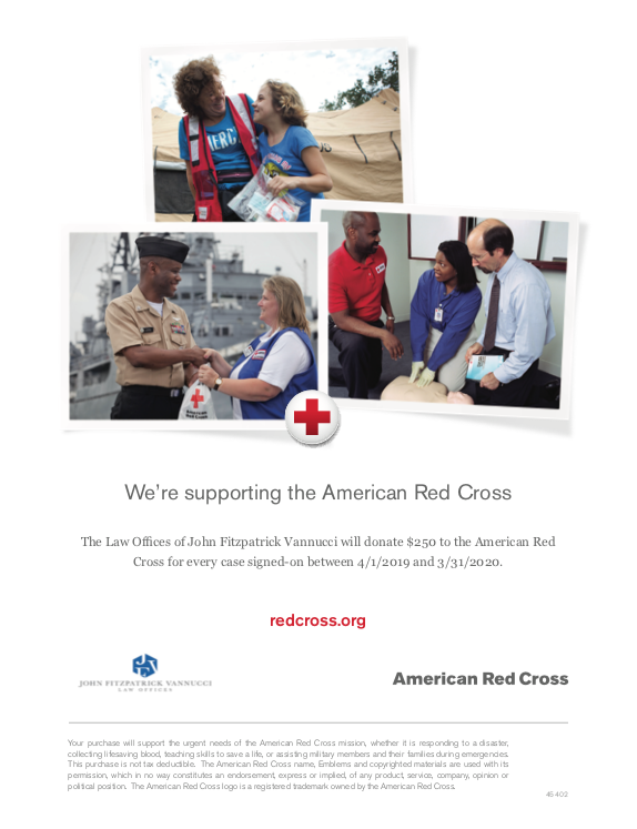 Learn about our new commitment to the  American Red Cross.