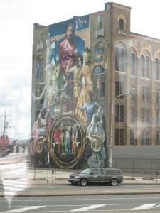 One example of the many beautiful murals in Philly.
