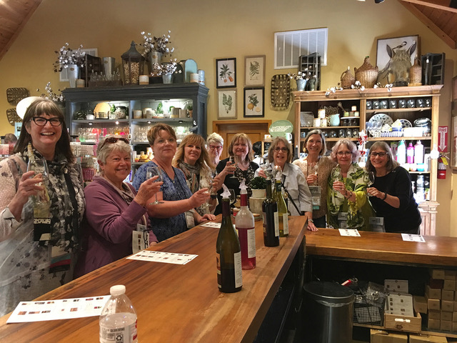 Fun treat during the Belle Meade Plantation tour…winetasting!