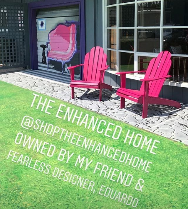 Thank you love ❤️ #theenhancedhome #high-endconsignment #boldbellevue #interiordesign #illusionchair