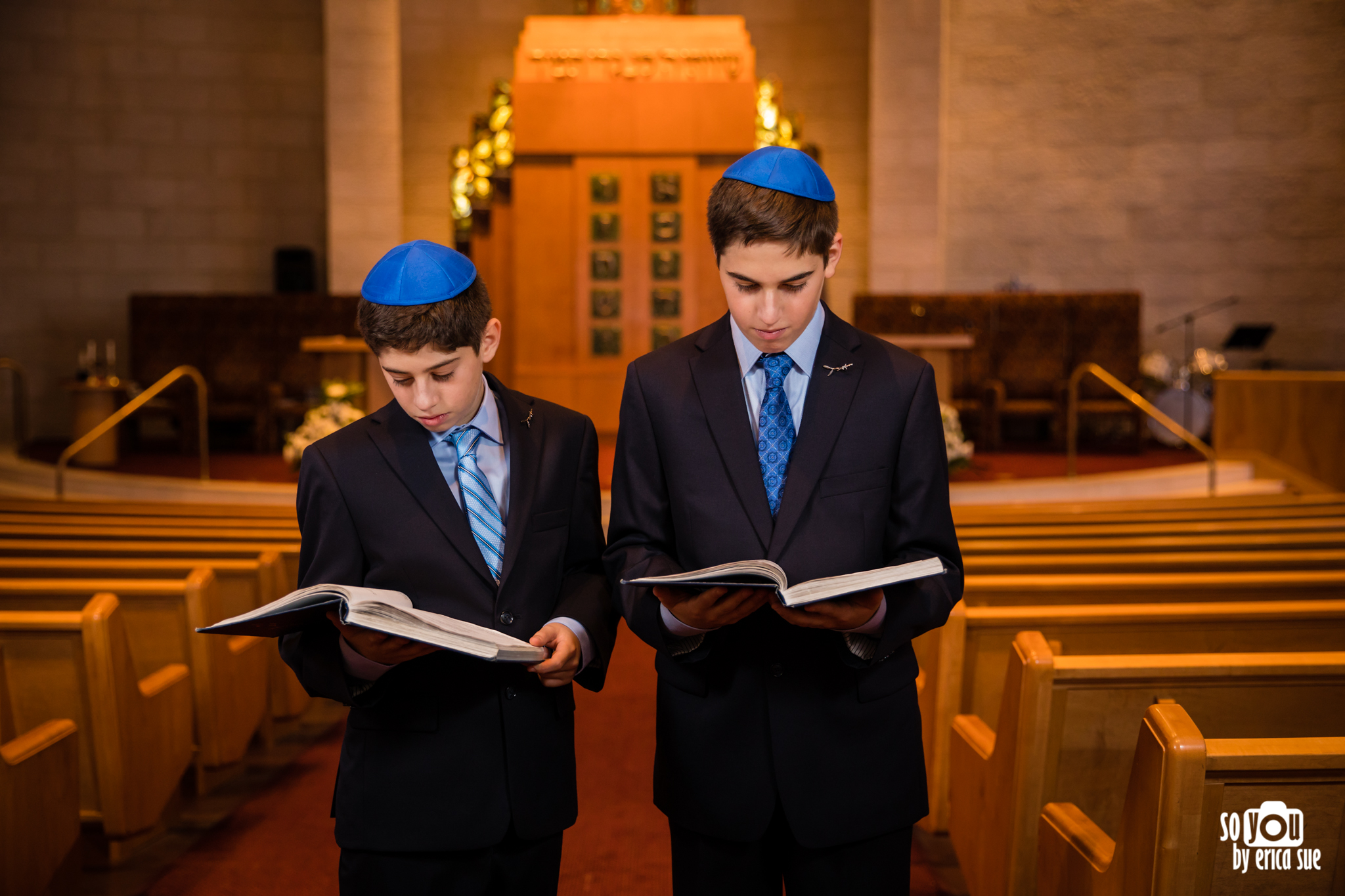 mitzvah portrait with siddur