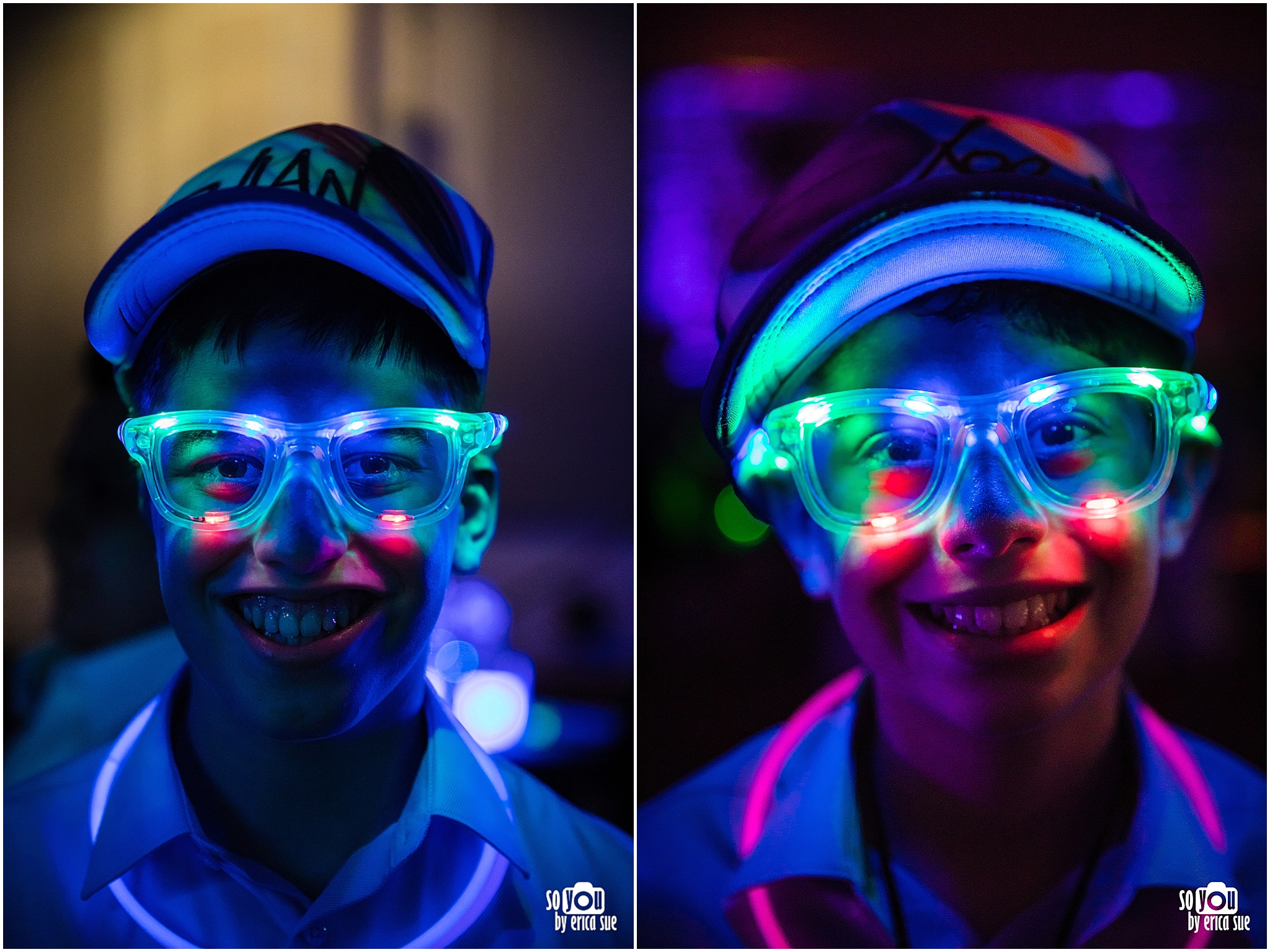 mitzvah light up glasses