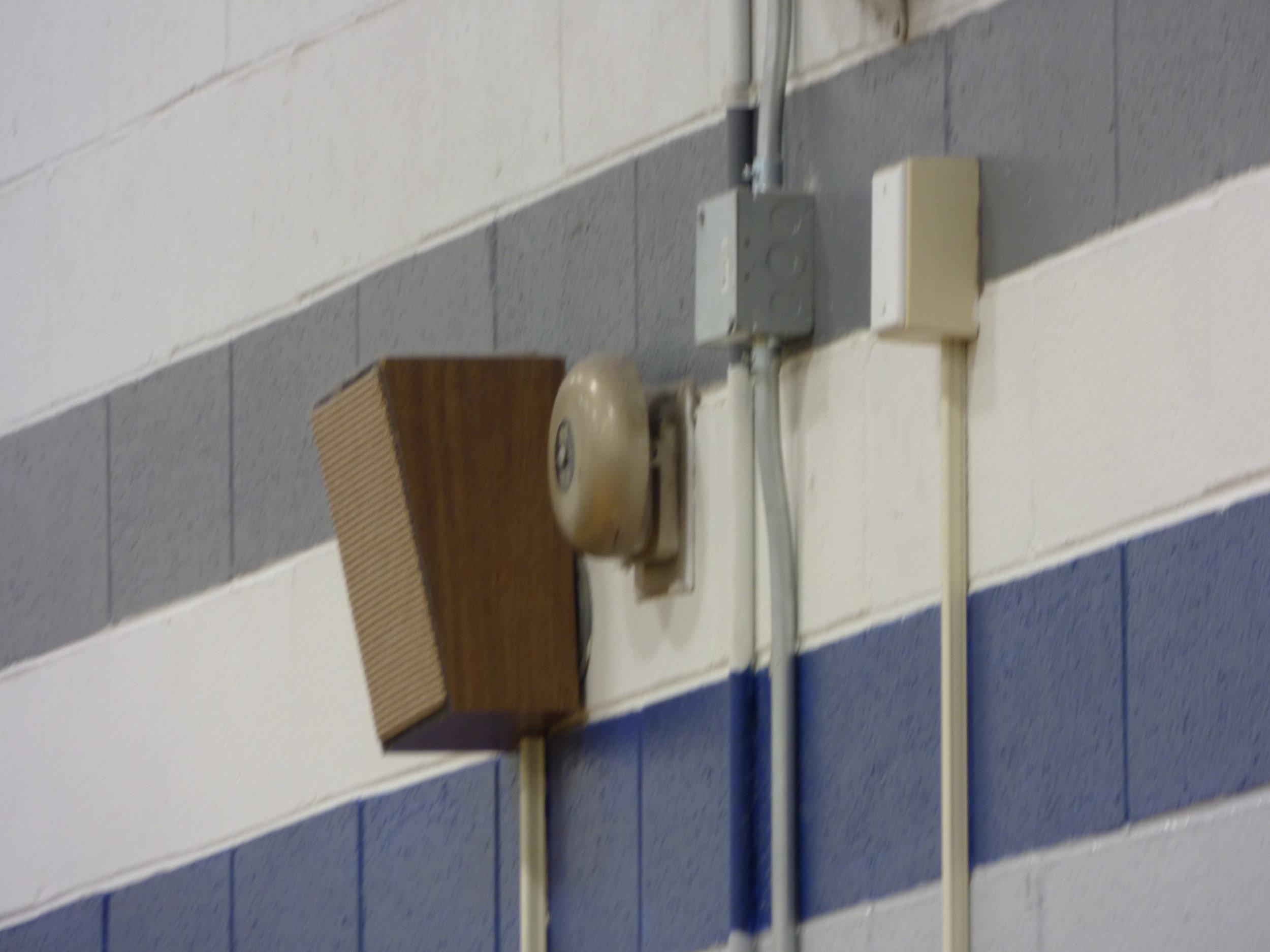 School Speaker and Alarm