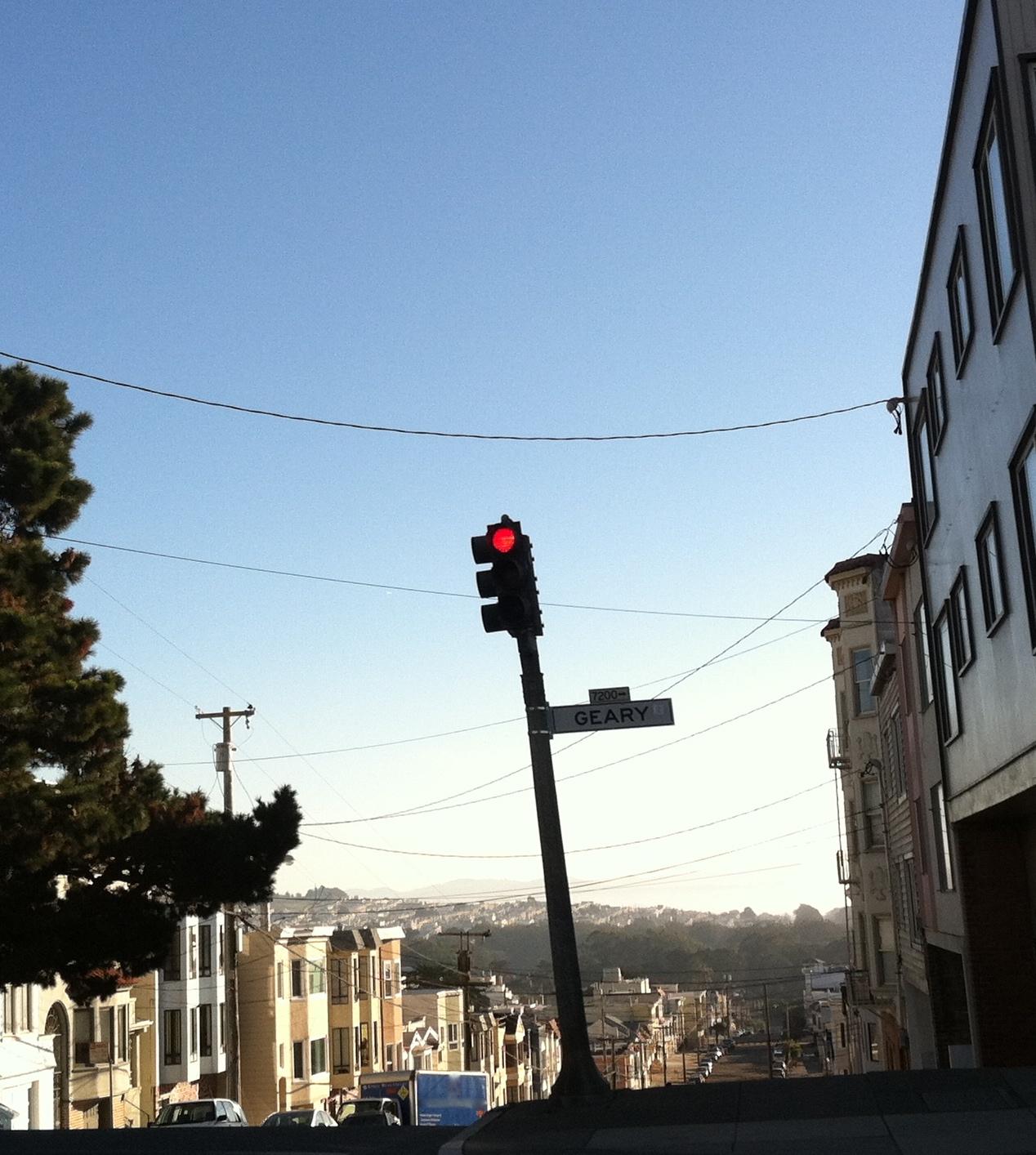 Traffic Signal in San Francisco
