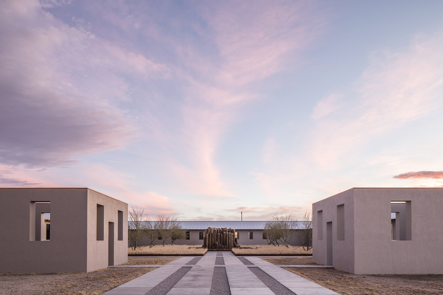 Robert Irwin,  untitled (dawn to dusk) , 2016. Photo by Alex Marks. Courtesy of the Chinati Foundation and Robert Irwin.