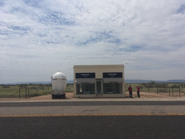 NuMu at Prada Marfa, 2017.