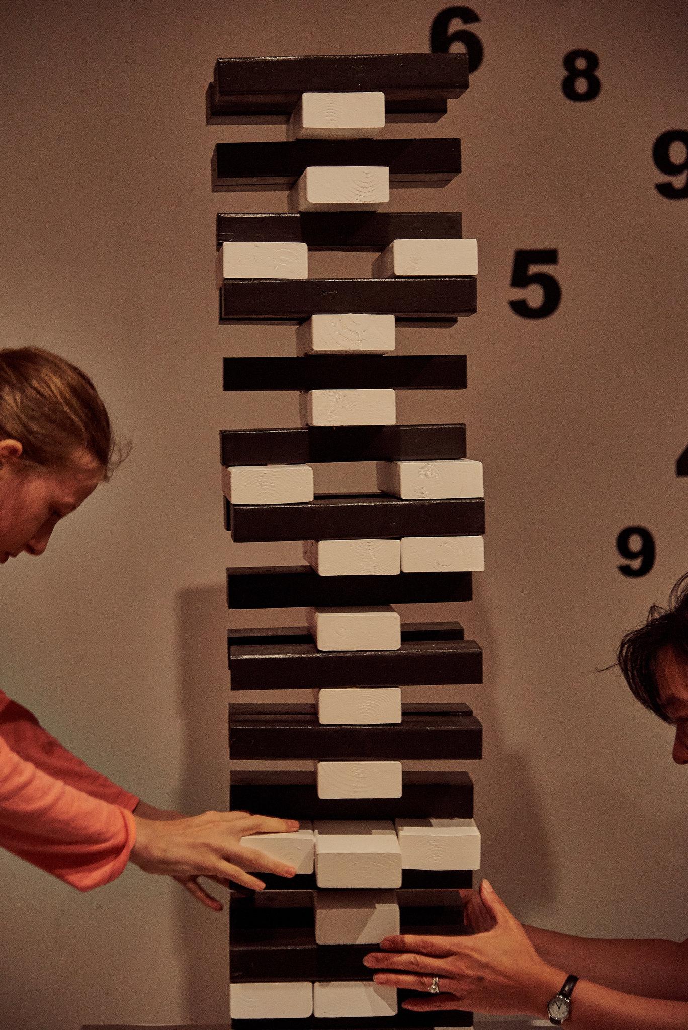 Risa Puno,  The Privilege of Escape  (installation), 2019. Image cc Victor Llorente for The New York Times.