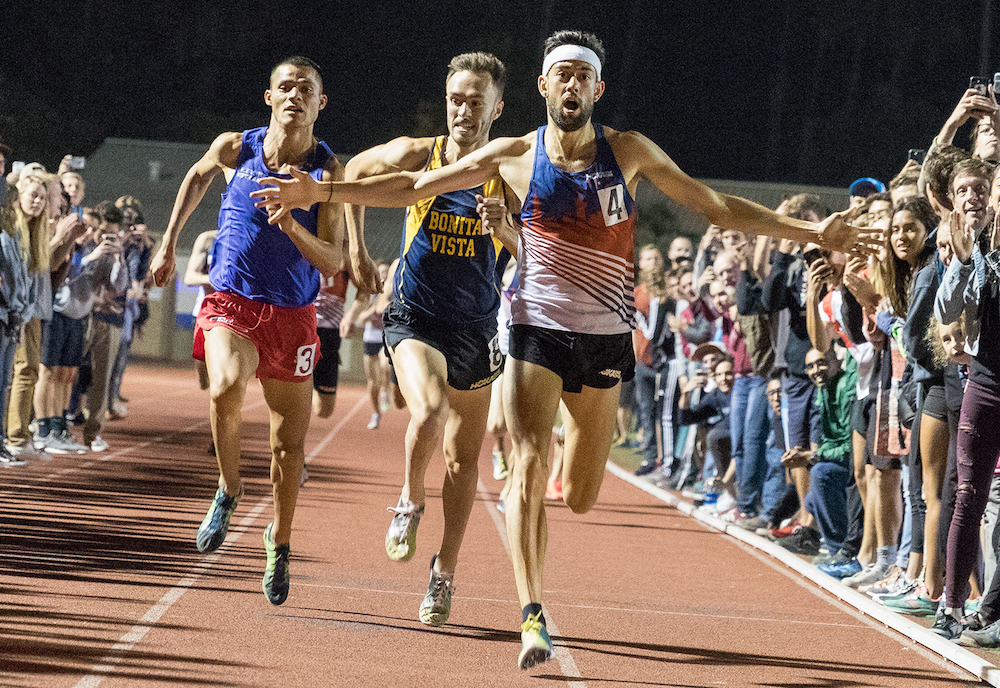 Santa Barbara's First Sub-4 Mile -
