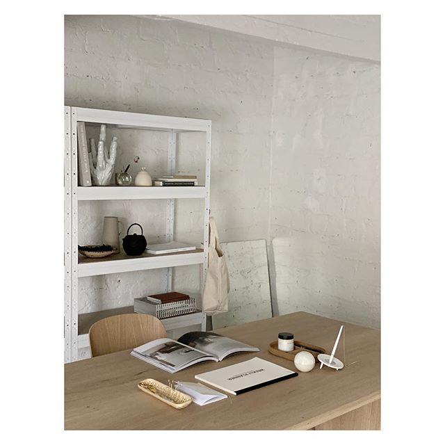 New corner to work with your laptop. @studioroscoe Table design by @riikka_kantinkoski. #studioroscoe #desksetup #rentalstudiohelsinki #meetingroom