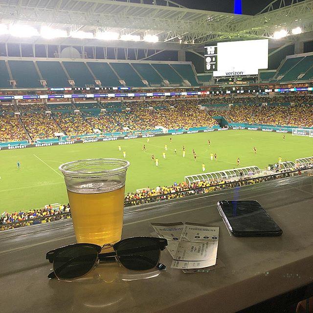 Colombia v Venezuela | Hard Rock Stadium | Miami, Florida . . . . #Miami #webdesign #creative #MadeInMiami #Tech #BusinessEmpowerment #GrowthHacking #inboundmarketing #MiamiTech #Hubspot #inbound #WeWorkWhereYouVacation #WeWorking #305 #MIA