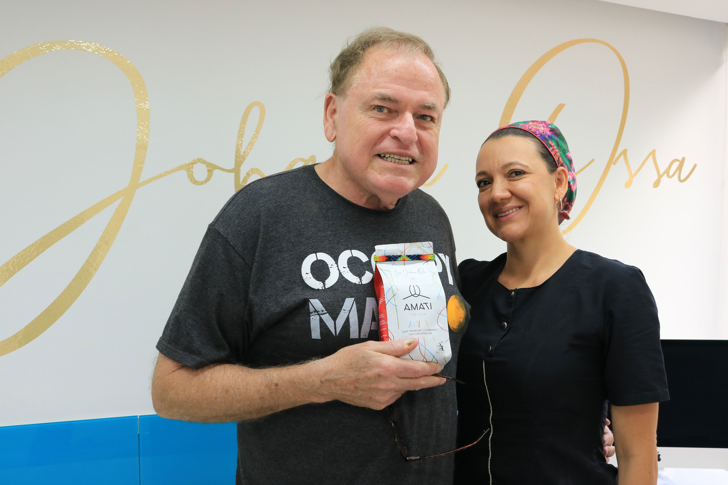 Rod and Dr. Johana Ossa - How much does Teeth Whitening in Medellin, Colombia cost?