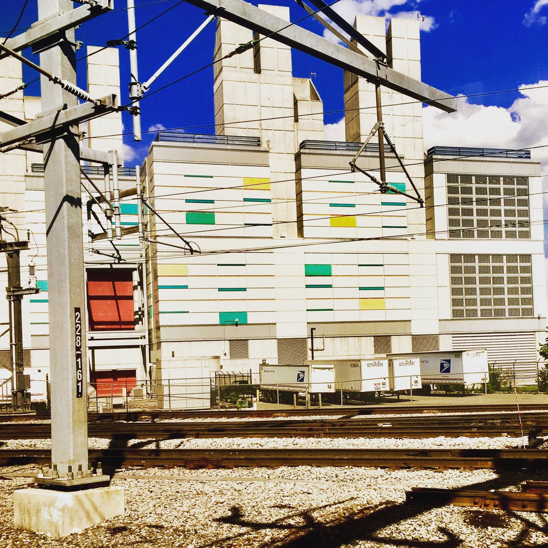 Train through New Jersey  New Jersey