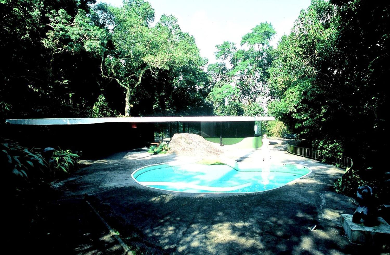 Casa das Canoas. Oscar Niemeyer's 1952 designed home
