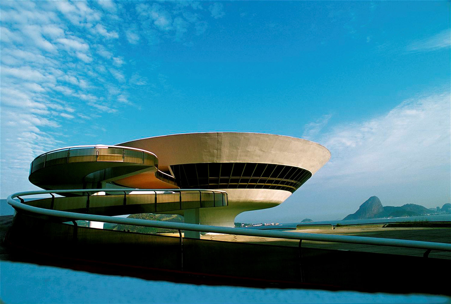 The Museum of Contemporary Art of Niteroi