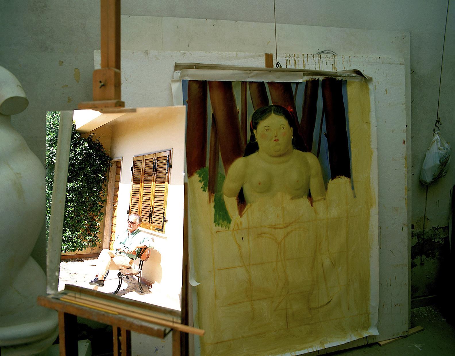 Botero at home